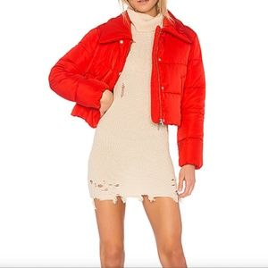 LOVERS AND FRIENDS RED JACKET